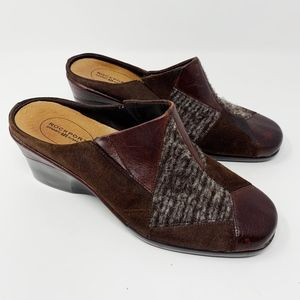 Rockport Multi Fabric Clogs NEW